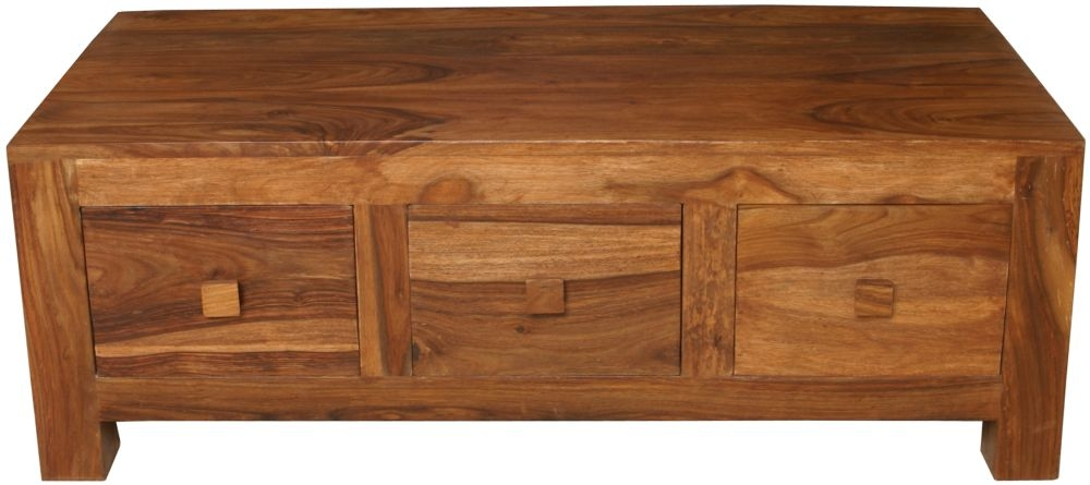 Cuban Petite Sheesham Coffee Table