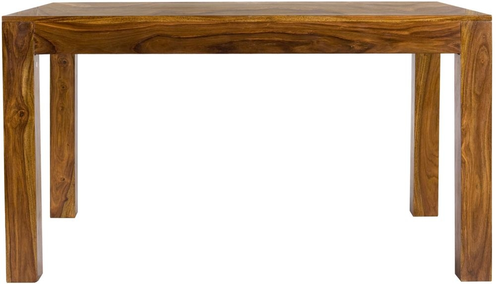 Cuban Petite Sheesham Dining Table - 4 Seater