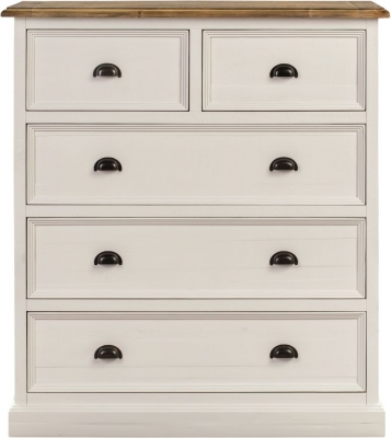 Farmhouse Painted 2+3 Drawer Chest