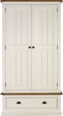 Farmhouse Painted 2 Door Wardrobe
