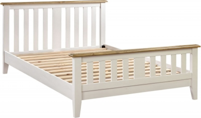 Farmhouse Painted Double Bed