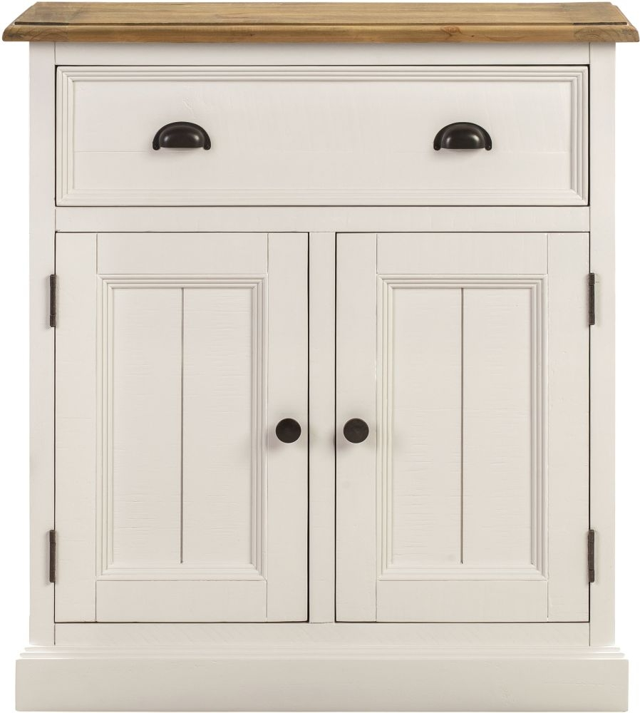 Farmhouse Painted Hall Cabinet