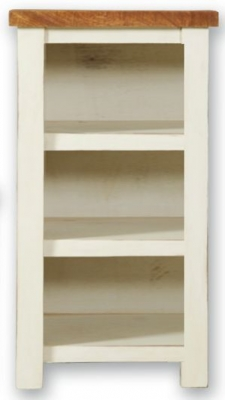 Kaveri Distressed Painted DVD Rack