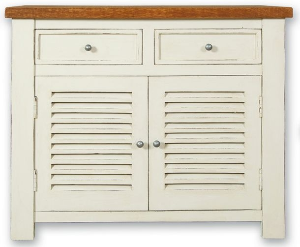 Kaveri Distressed Painted Sideboard - Small