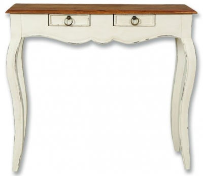 Lyon Painted Console Table - 2 Drawer