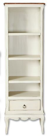 Lyon Painted Bookcase - Slim