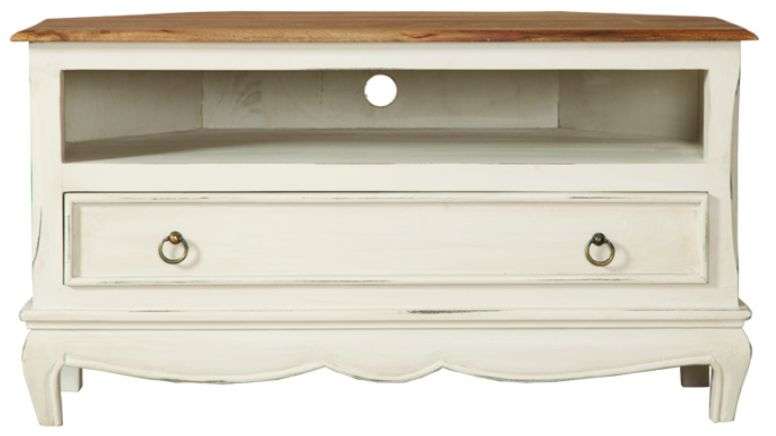 Lyon Painted TV Cabinet - Corner