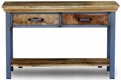 Metro Mango Wood Console Table