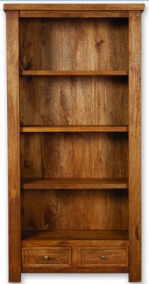 Modasa Mango Wooden Bookcase - Large