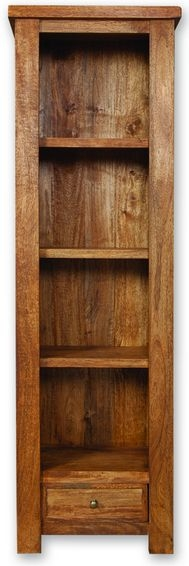 Modasa Mango Wooden Bookcase - Slim