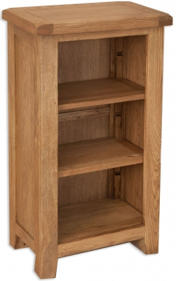 Perth Country Oak Bookcase - Small