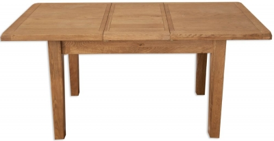 Perth Country Oak Dining Table - Extending 6 Seater