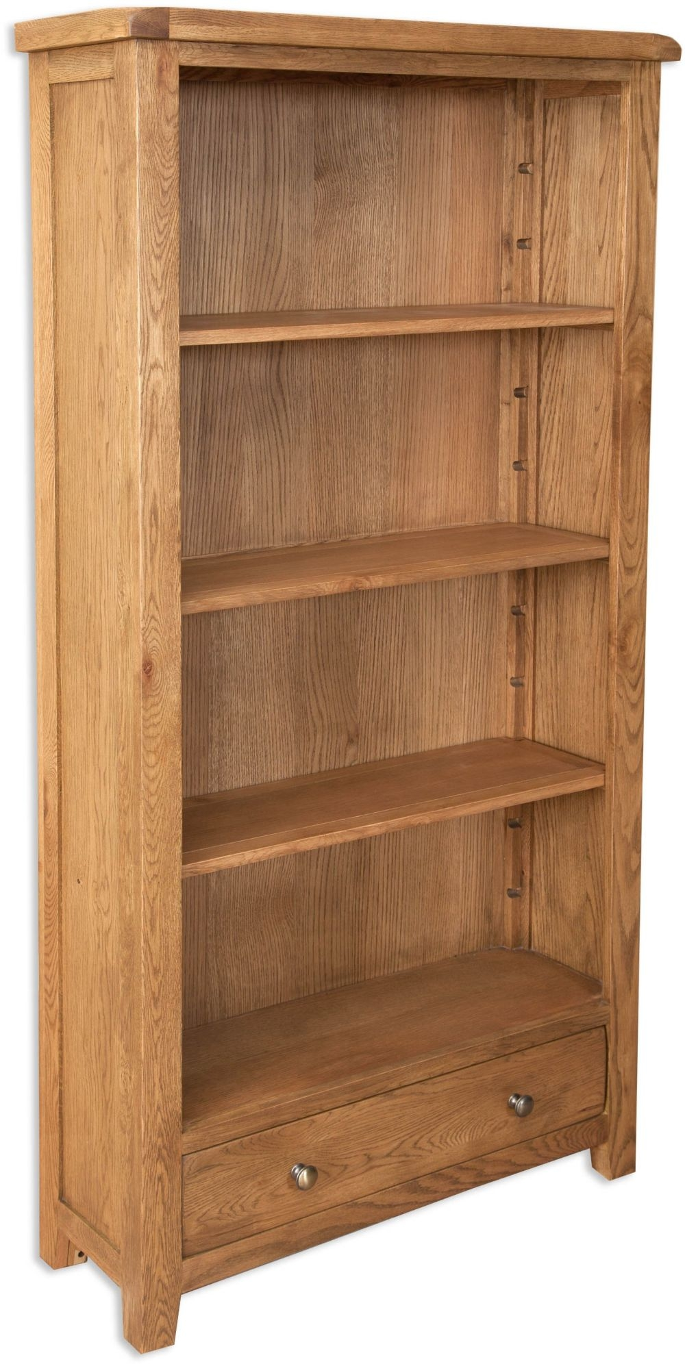 Perth Country Oak Bookcase - Large