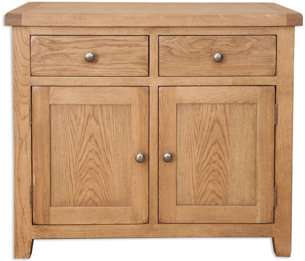 Perth Country Oak Sideboard - 2 Door 2 Drawer