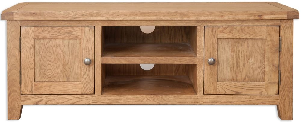 Perth Country Oak TV Cabinet