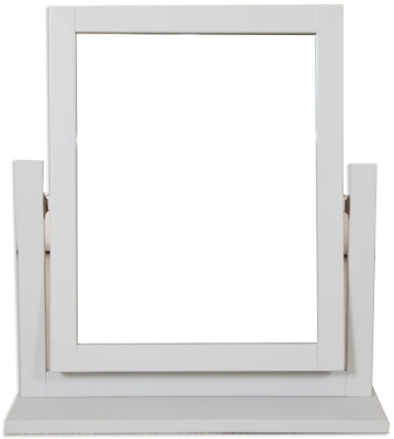 Perth Dressing Mirror - Oak and French Grey Painted