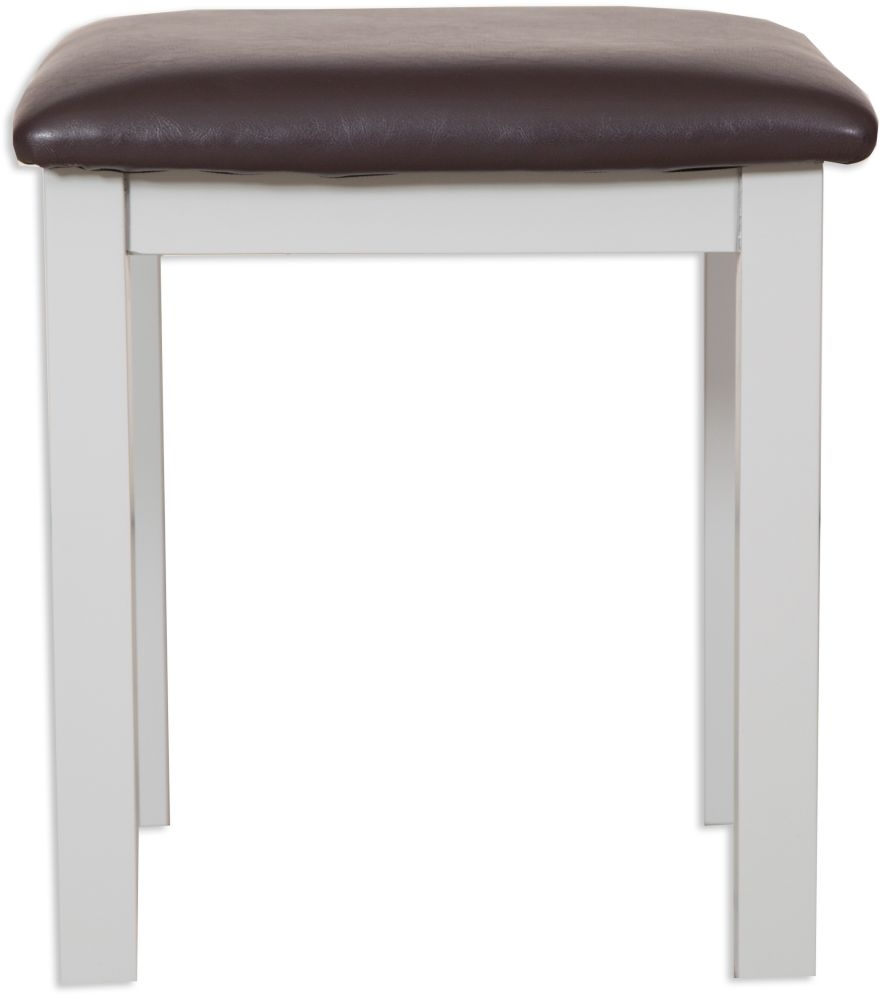 Perth French Grey Dressing Stool