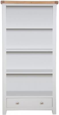 Perth French Grey Bookcase - Large
