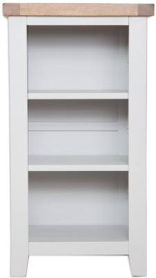 Perth French Grey Bookcase - Small