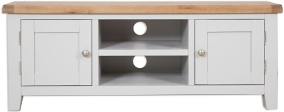 Perth French Grey Plasma TV Cabinet