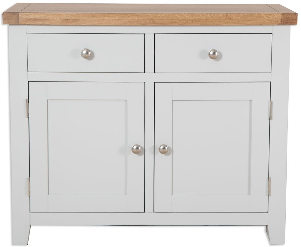 Perth French Grey Sideboard - 2 Door