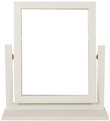 Perth Dressing Mirror - Oak and Ivory Painted