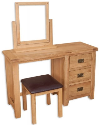 Perth Natural Oak Dressing Table
