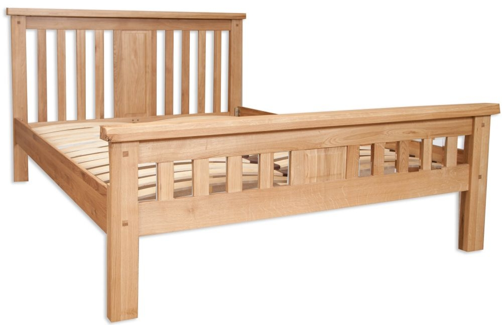 Perth Natural Oak Bed