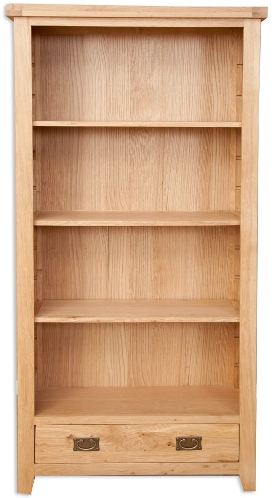 Perth Natural Oak Bookcase - Large