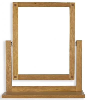 Perth Oak Dressing Mirror