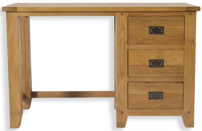 Perth Oak Dressing Table