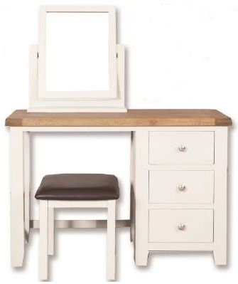 Perth Dressing Set - Oak and White Painted
