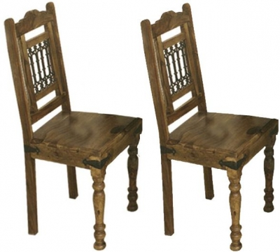 Thacket Sheesham Dining Chair (Pair)