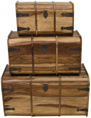 Thacket Set Of 3 Trunks