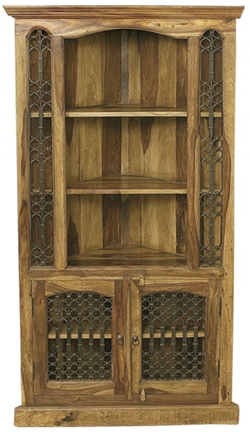 Thacket Tall Corner Cabinet