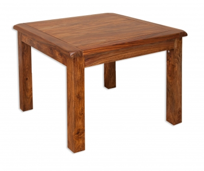 Villa Sheesham Small Square Dining Table
