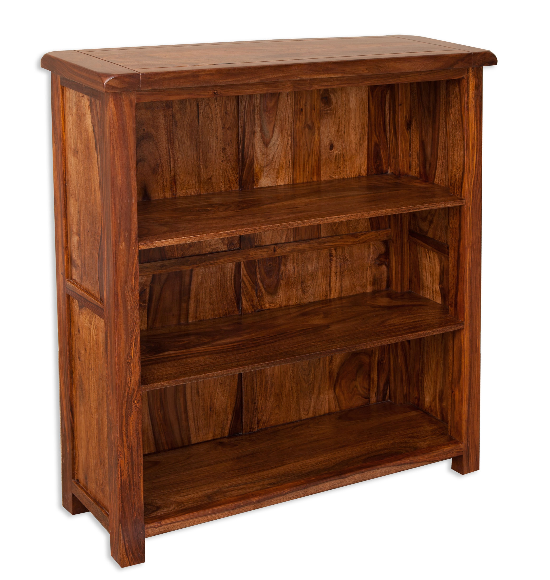 Villa Rustic Sheesham Small Bookcase