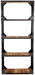 Indian Hub Ascot Industrial Bookcase - Large