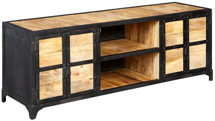 Indian Hub Ascot Industrial Large TV Unit