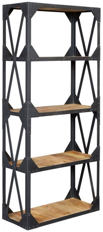 Indian Hub Ascot Industrial Bookcase