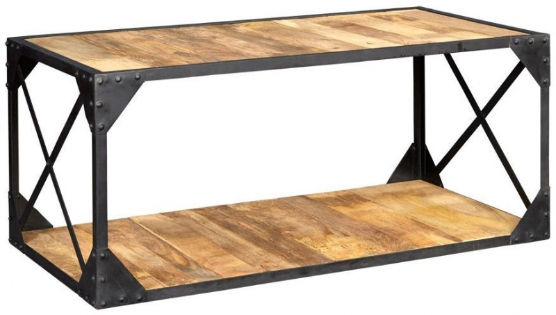 Indian Hub Ascot Industrial Coffee Table