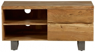 Indian Hub Baltic Live Edge Small TV Unit