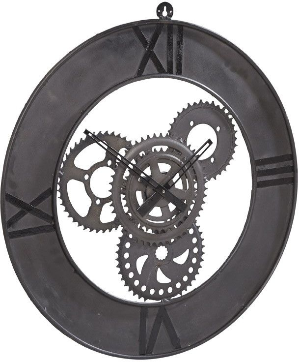 Indian Hub Factory Metal Clock