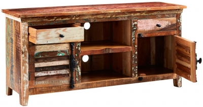 Buy Indian Hub Coastal Reclaimed Wood Coffee Table Online