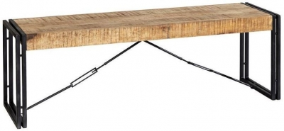 Indian Hub Cosmo Industrial Dining Bench
