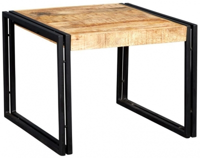 Indian Hub Cosmo Industrial Medium Coffee Table
