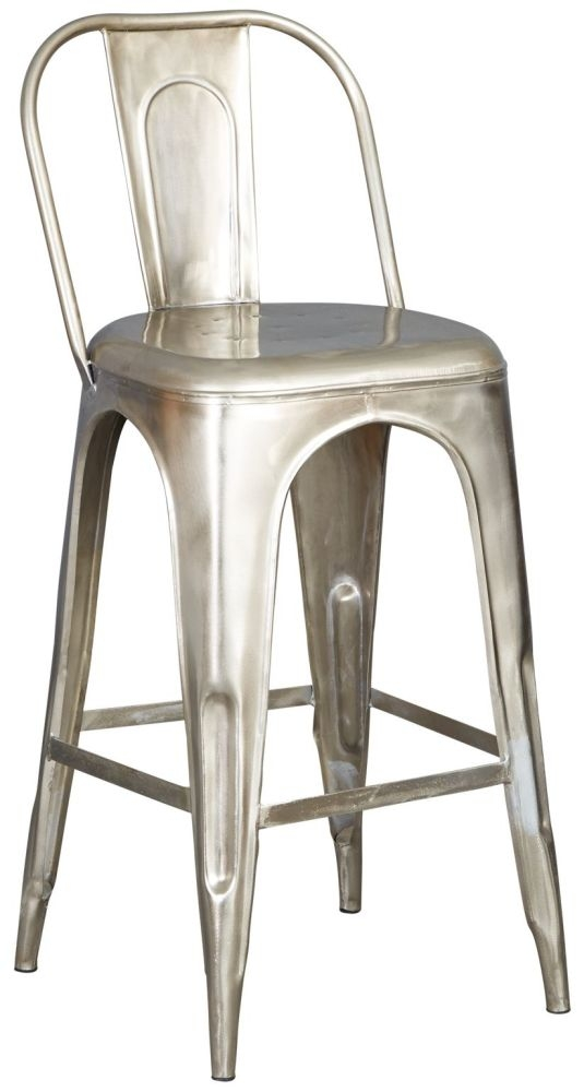 Indian Hub Cosmo Industrial Bar Chair