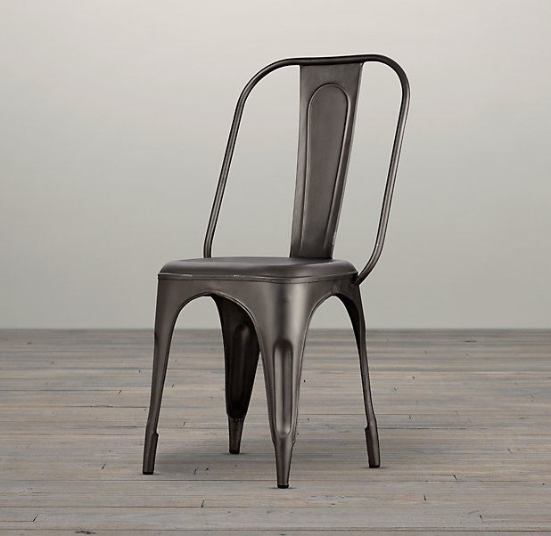 Indian Hub Cosmo Industrial Chair - Grey