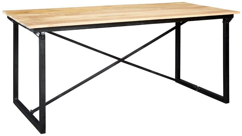 Indian Hub Cosmo Industrial Large Dining Table