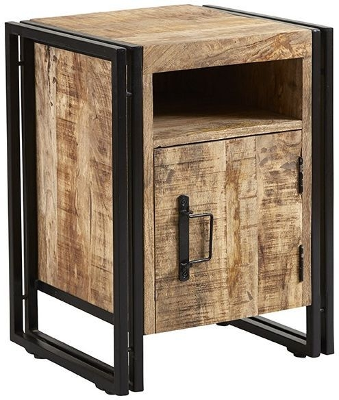 Indian Hub Cosmo Industrial Small Side Table